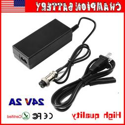 24v 2a charger adapter for electric smart