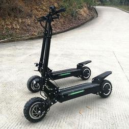 FLJ 5600w/60v Two Wheel 11in. Folding Off Road Electric Scoo
