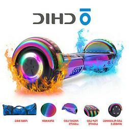 "6.5"" 2-Wheel Self Balancing Hoverboard Bluetooth Speaker Rai"