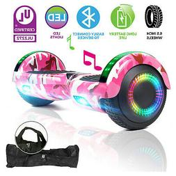 "6.5"" All Terrain Hoverboard Bluetooth Electric Self Balancin"