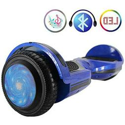 "6.5"" Balance Scooter with Bluetooth Speaker, LED Lights Bala"