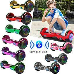 "6.5"" Bluetooth Electric Hoverboard Motorized Self Balancin"