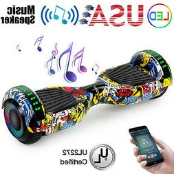 """6.5"""" Bluetooth Hoover Board Electric Balancing Scooter Hover"""