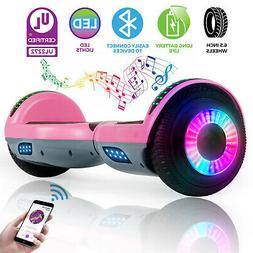 6.5'' Bluetooth Hoverboard Electric Self Balancing Scooter F