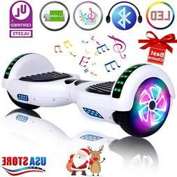 "6.5"" Bluetooth Hoverboard Electric Self Balancing Scooter LE"
