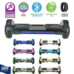 """6.5"""" Bluetooth Electric Hoverboard Self Balancing LED Scoote"""