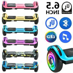 """6.5"""" Bluetooth Hoverboard LED Electric Self Balancing Scoote"""