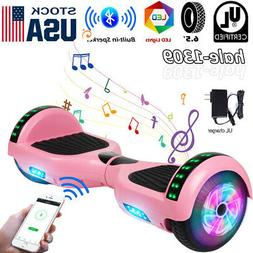 """6.5"""" Bluetooth Hoverboard LED Self Balancing Scooter UL2272"""