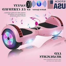 "6.5"" Bluetooth Hoverboards Razor Scooter Electric Self-Bal"