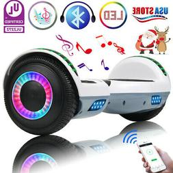 "6.5"" Bluetooth Hoverboard LED Self Balancing Electric Scoote"