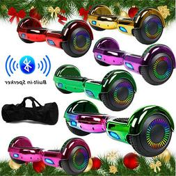 "6.5"" Bluetooth Hoverboard Self Balance Electric Scooter LED"