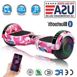"6.5"" Bluetooth Hoverboards Razor Scooter Electric Self-Balan"