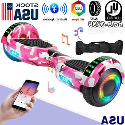 """6.5"""" Bluetooth Hoverboards Scooter Electric Self-Balancing L"""