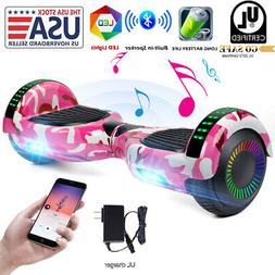 """6.5"""" Bluetooth Hoverboards Self-Balancing Scooter LED No B"""