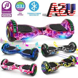 """6.5"""" Electric Hoverboard Self-Balancing LED Bluetooth Scoote"""