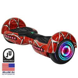 "6.5"" Electric Self Balancing LED Bluetooth Scooter UL 2272 C"