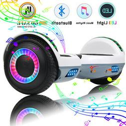"6.5"" Hoverboard Bluetooth Electric Self Balance Scooter with"