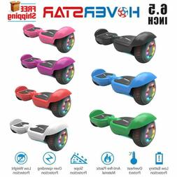 6.5'' hoverboard Flash LED wheels electric scooter UL Listed