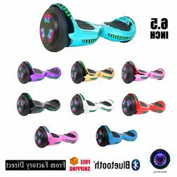 6.5'' Hoverboard with Bluetooth AUTO BALANCE & LED FLASH WHE
