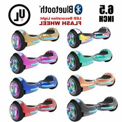 6.5'' Hoverboard with Bluetooth, Self-Balance Led Flash Whee