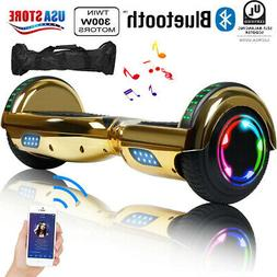 "6.5"" 2-Wheel Hoverboard Gold Electric Scooter Hover boards U"