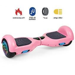 """6.5:"""" Hoverboards Scooter Self-Balancing LED Pink Girl gift"""