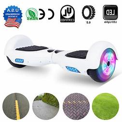 6.5'' LED Classic White Self Balancing Electric Scooter UL22