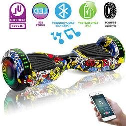 """6.5"""" Off Road Hoverboard Electric Self Balance Scooter LED S"""