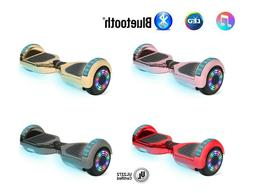 "NHT 6.5"" Self-Balancing Hoverboard Sidelights LED Bluetooth"