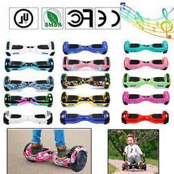 6.5'' UL Electric Bluetooth Hoverboard Self Balance Scooter
