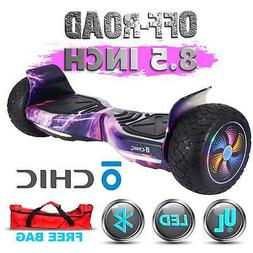"""8.5"""" Wheels OFF ROAD Self Balancing Hoverboard Electric Scoo"""