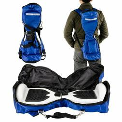 Swagtron Blue and Black Backpack Carrying Bag for T1 and T5