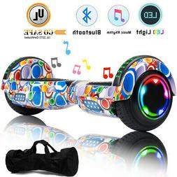 "6.5"" Bluetooth LED Smart Hoverboard Self Balancing Electric"
