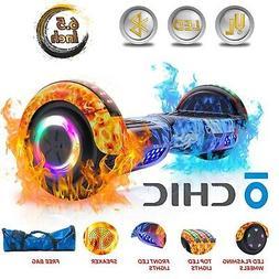 "CHIC®  Bluetooth Hoverboard 6.5"" Flash Wheel Self Balance E"