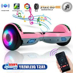 Bluetooth Hoverboard Electric LED Self Balancing Scooter For