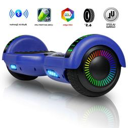 Bluetooth Hoverboard LED 2 Wheel Electric Self Balance Scoot