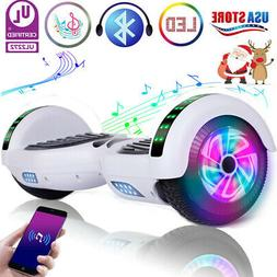 Bluetooth Hoverboard LED Self Balance Electric Scooter witho