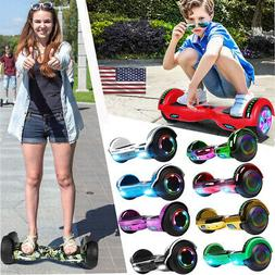 Bluetooth Hoverboard Self Balancing Electric Scooter LED UL2