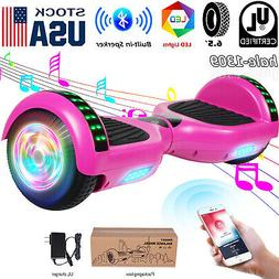 """Bluetooth Hoverboards Wheel Self Balancing Scooter LED 6.5"""""""