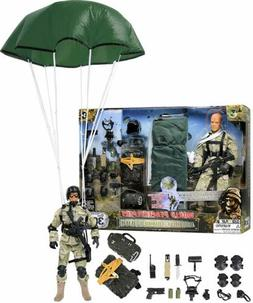 TOY MILITARY ADVENTURE FIGURE PLAY GAME GIFT BALL KID BOY GI