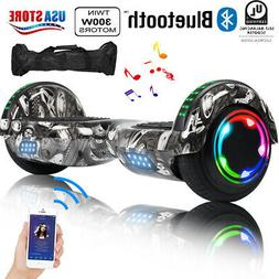 Hot! Bluetooth Hoover Boards Razor Scooter Electric Self-Bal