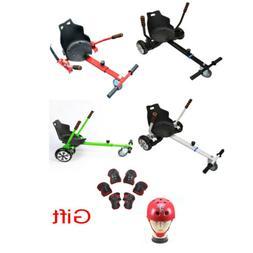 """Adjustable Go Kart Hover Cart Holder Seat fr 6.5"""" 8""""10"""" Self"""