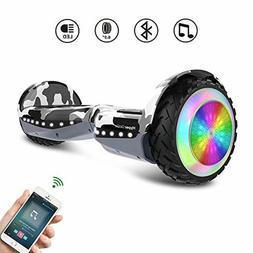 HYPER GOGO Hoverboard, Off Road All Terrain Bluetooth Speake