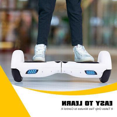 2 Hoverboard LED Side