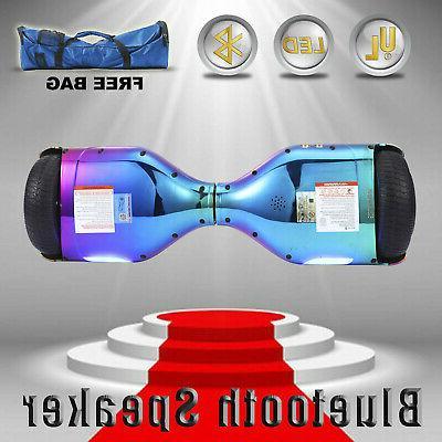 """6.5"""" Hoverboard Speaker Rainbow free Bag"""