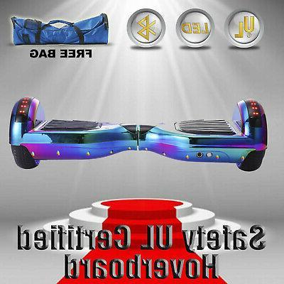 "6.5"" Self Hoverboard Rainbow free"