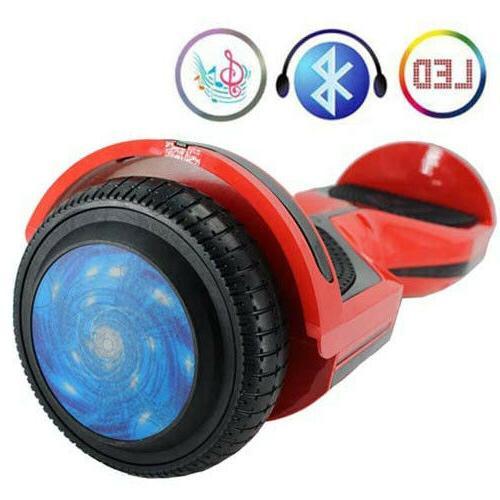 "6.5"" Balance Bluetooth LED Balancing Scooter"