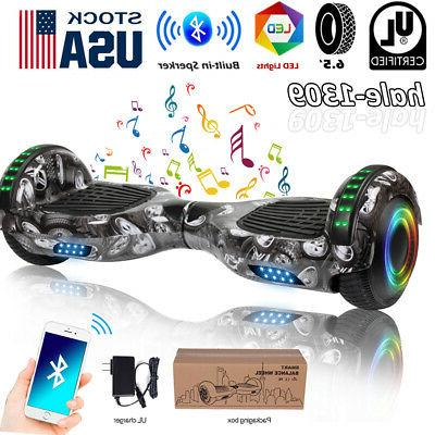 6 5 bluetooth hoverboard led electric self