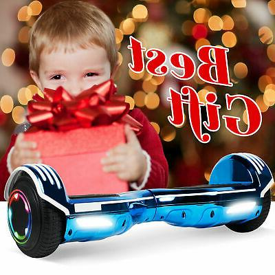 """6.5"""" LED Electric Board Scooter Chrome"""