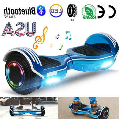 6 5 bluetooth hoverboard led electric smart